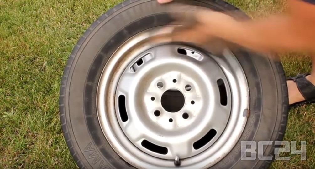 Покраска дисков автомобиля