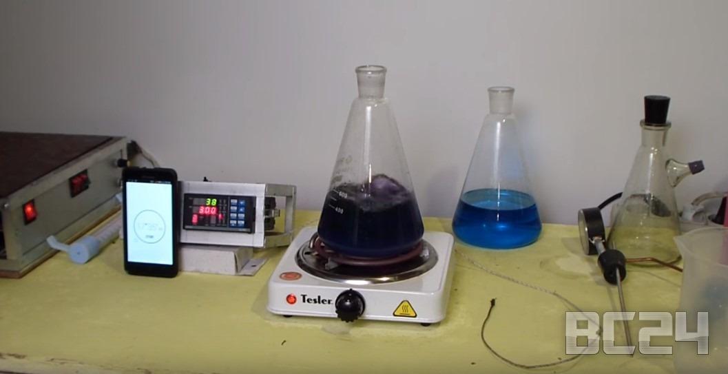 Тест антифриза и тосола на температуру кипения и горения