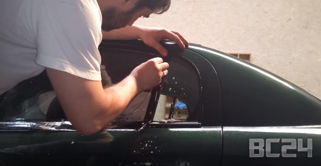 Как тонировать машину своими руками ваз 62