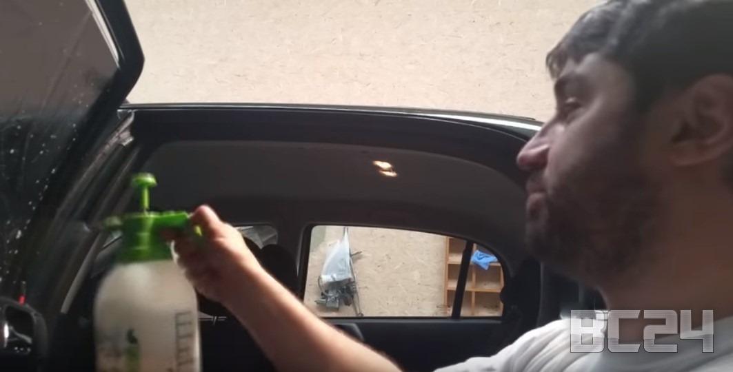 Как затонировать автомобиль своими руками