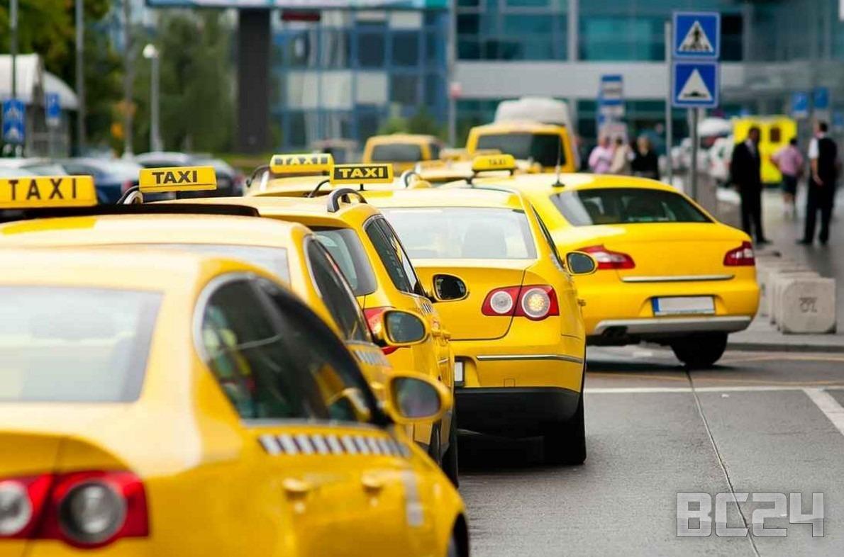 скрученный счетчик такси