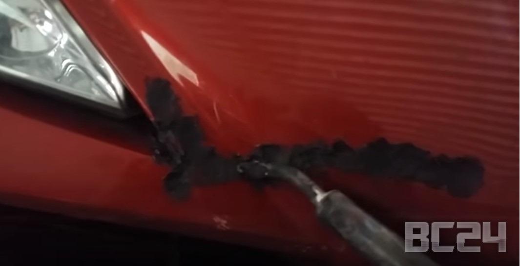 Как отремонтировать треснувший бампер